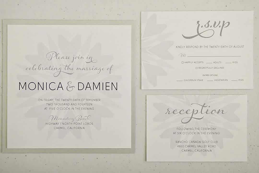 Creating a Unique Wedding Invitation with Hearts and Arrows Diamond Pattern.