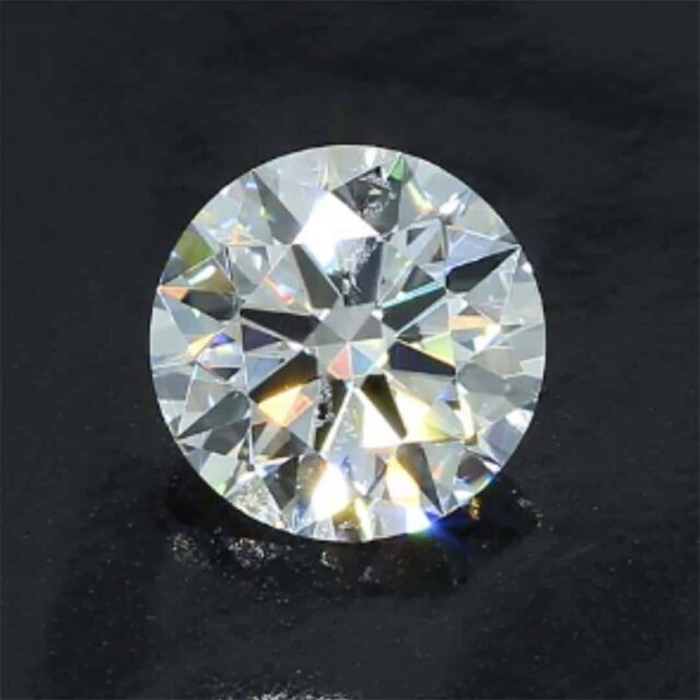 Twinning Wisps Inclusions SI-1 Clarity Diamond.