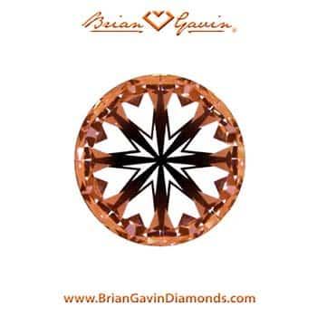 Optical Precision of Brian Gavin Signature Hearts and Arrows Diamond.