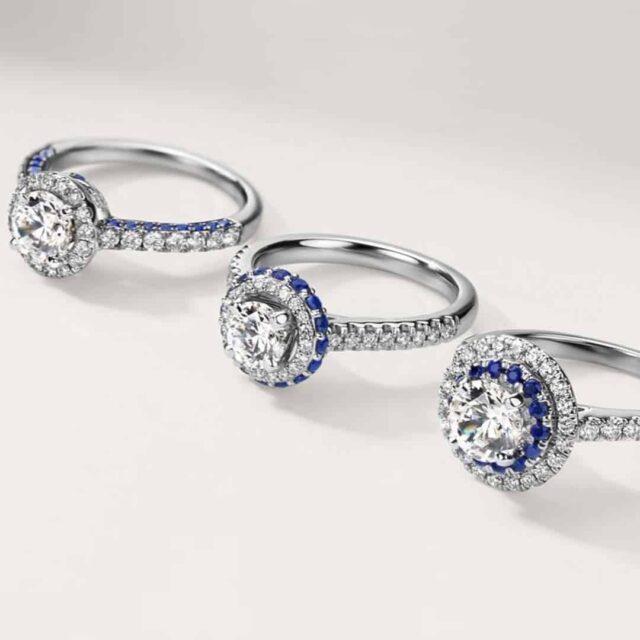 Blue Nile Diamond Carat Weight Examples
