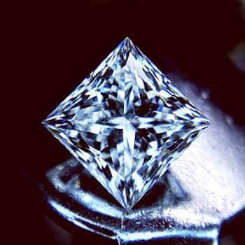 Brian Gavin Signature Princess Cut Diamonds.