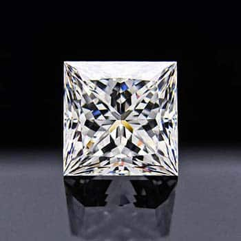 Cut Diamond with 3-chevron facets.
