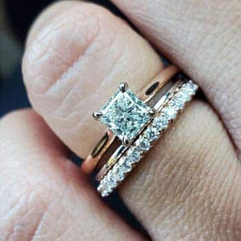 Brian Gavin Solitaire Engagement Ring