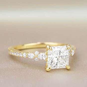 Brilliant Earth Primrose Princess Cut Diamond Engagement Ring.