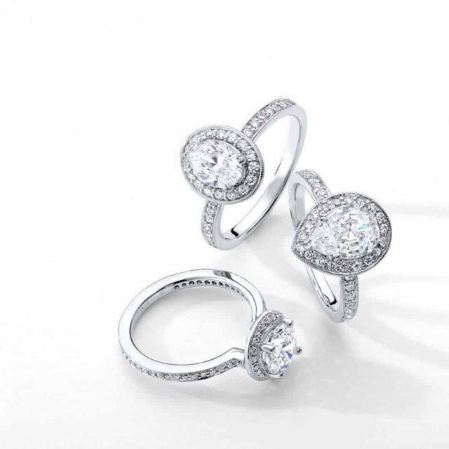 Diamond Buying Tutorial Vintage Engagement Rings.