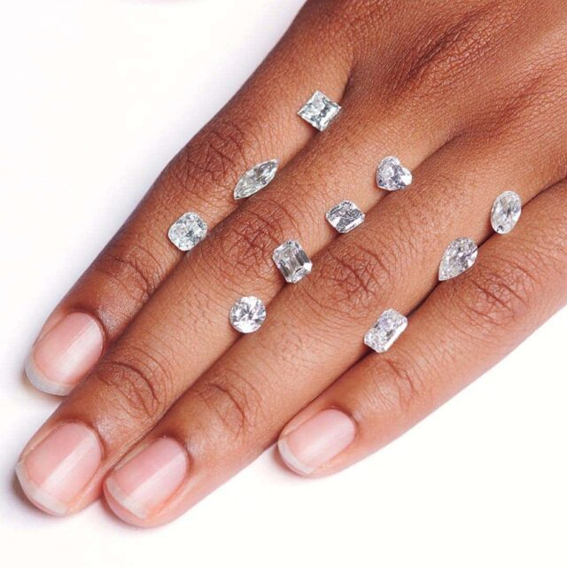 Popular Diamond Shapes from Blue Nile.