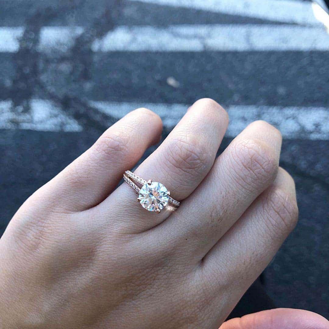 Ritani 1-carat Diamonds and Larger, Style 1RZ2488.
