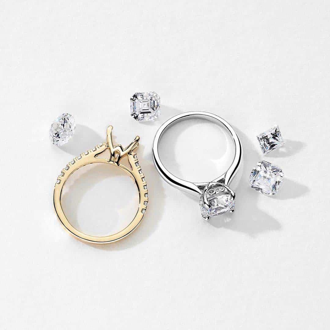 Ritani 1-carat Diamonds Engagement Rings.