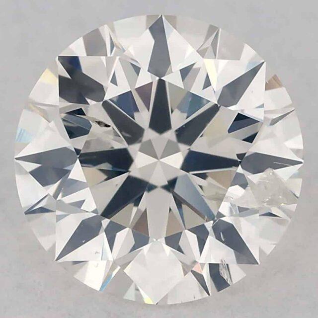 1-carat Diamond I1 Clarity James Allen GIA Excellent Cut.