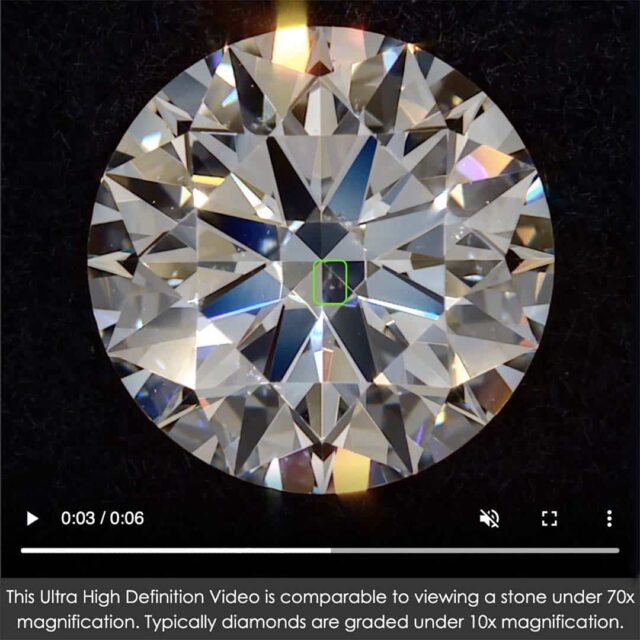 Brian Gavin Blue Fluorescent Diamond Clarity VS2.