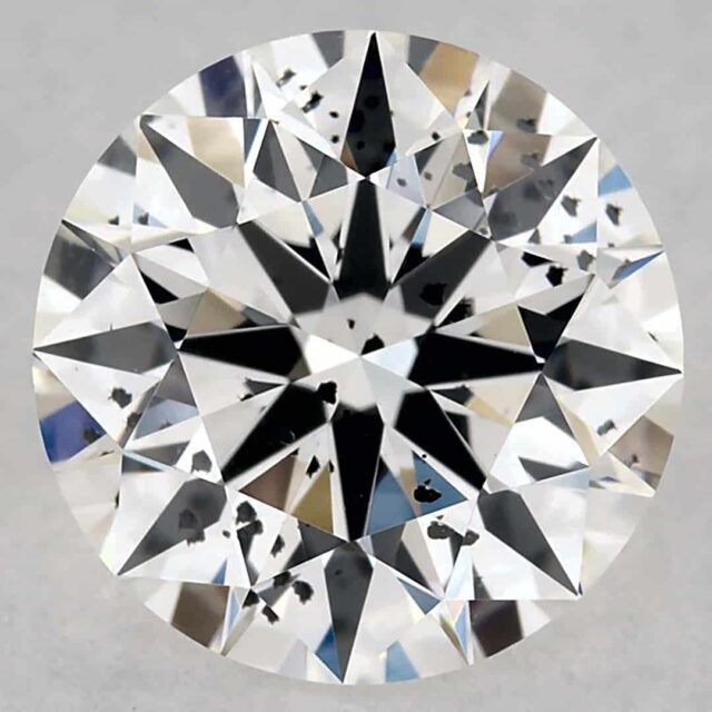 I1 Clarity 1-carat James Allen GIA Excellent cut round diamond.
