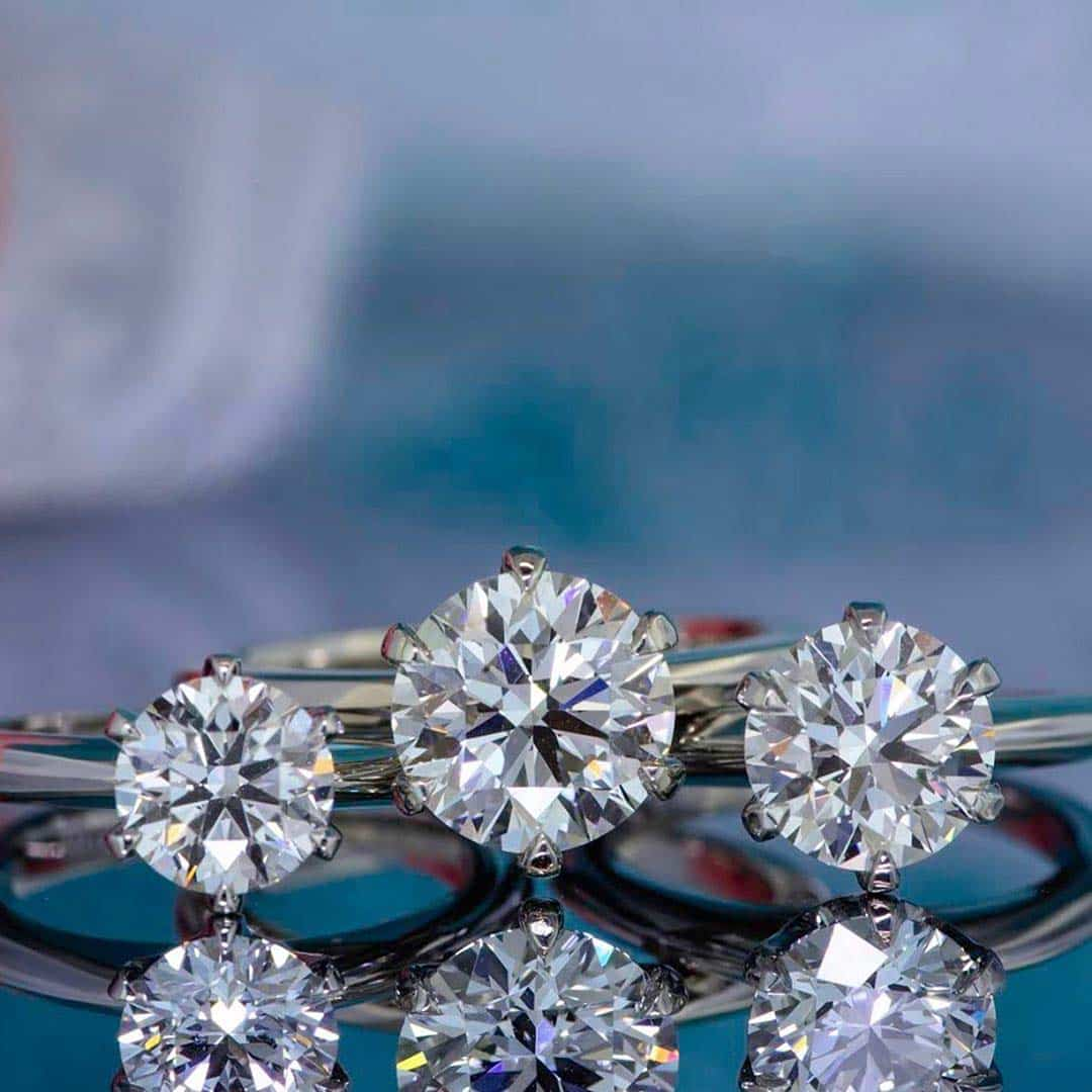 Crafted by Infinity Hearts and Arrows Super Ideal Cut HPDiamonds.