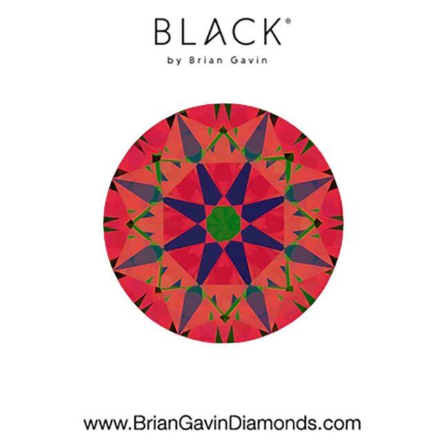 ASET for VS1 Clarity Black by Brian Gavin Diamond.