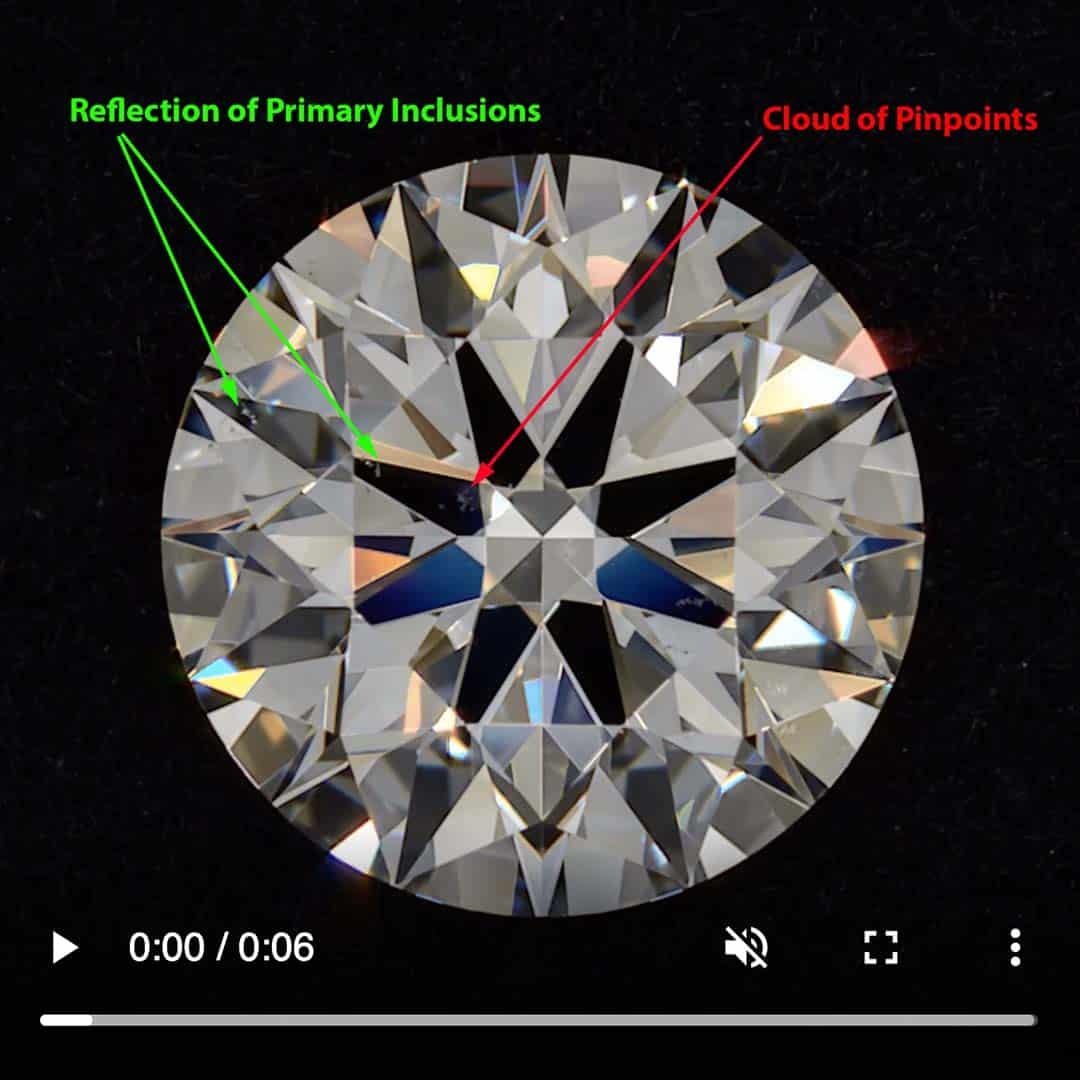 Black by Brian Gavin VS-1 Clarity Super Ideal Cut Diamond.