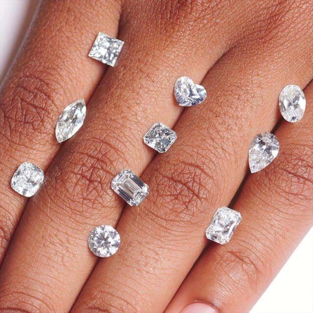Blue Nile Round and Fancy Shape Diamonds.