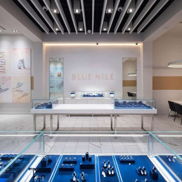 Blue Nile Retail Jewelry Store