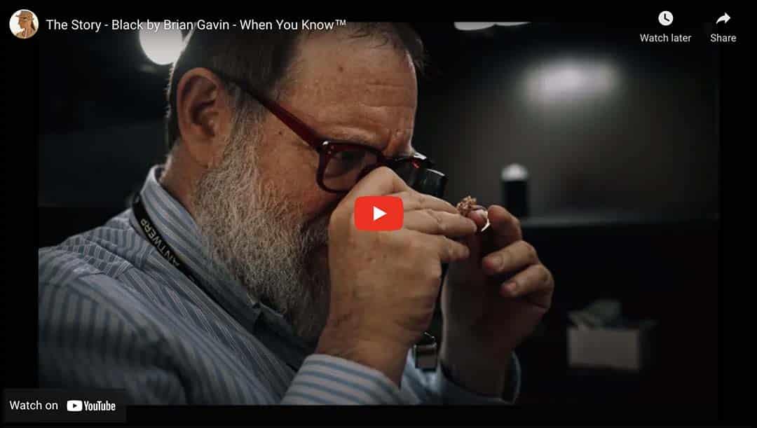 Diamond Cutter Brian Gavin Video on YouTube.