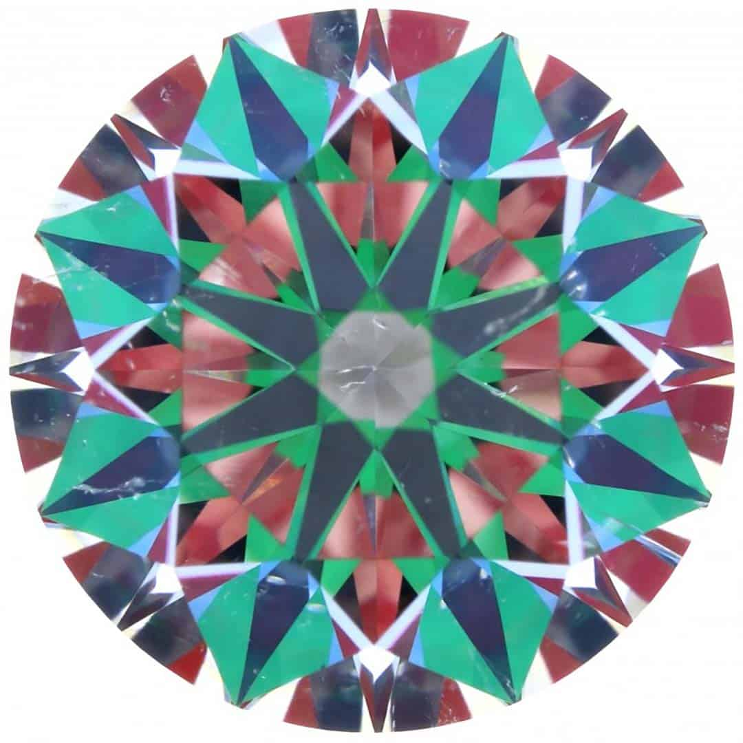 HPDiamonds Optical Symmetry Image for Crafted by Infinity Diamond.