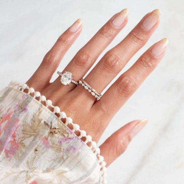 James Allen Natural and Lab-grown diamond engagement rings.