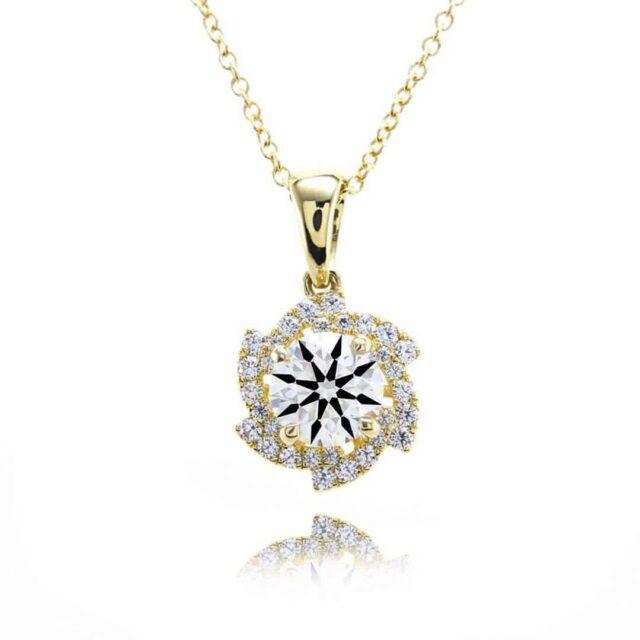 VS1 Diamond Pendant by Black by Brian Gavin.