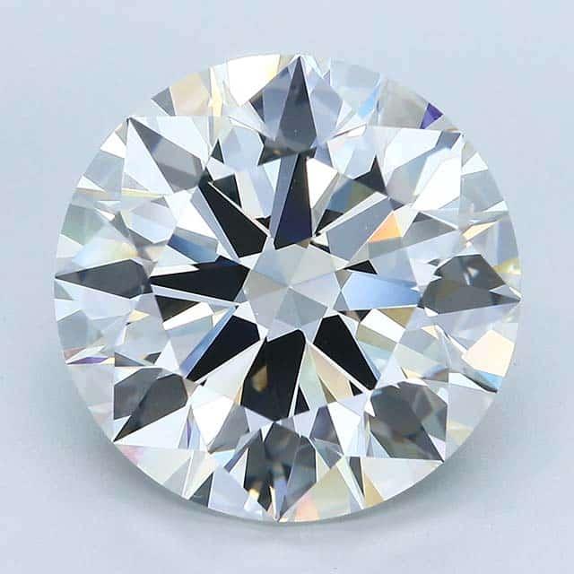 Blue Nile Big Diamond Rings 10.96 carats, H-color, VVS-2 clarity.