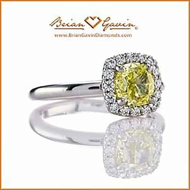 Fancy Color Diamonds Buying Guide Brian Gavin Vivid Yellow.
