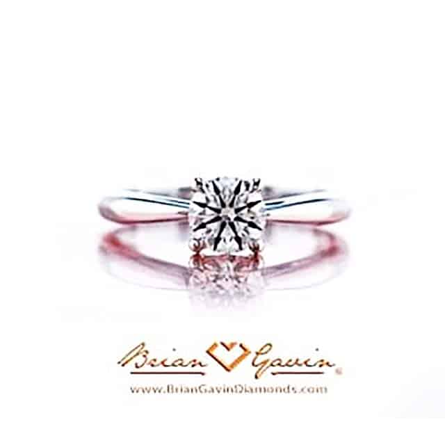 Truth Engagement Ring by Brian Gavin Diamonds