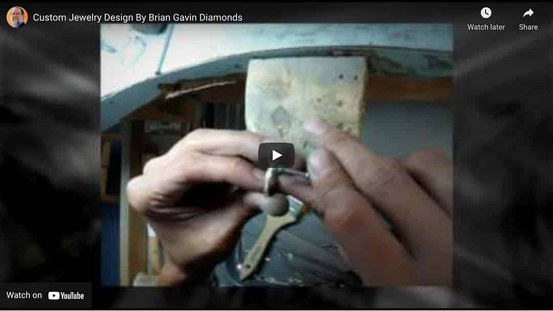 YouTube Video by Brian Gavin on Custom Jewelry Design.