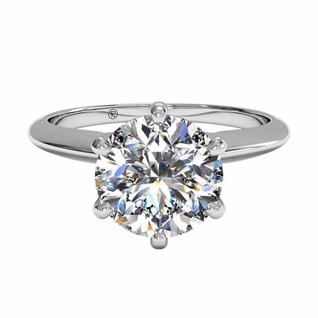 Classic Solitaire Ritani Engagement Rings.