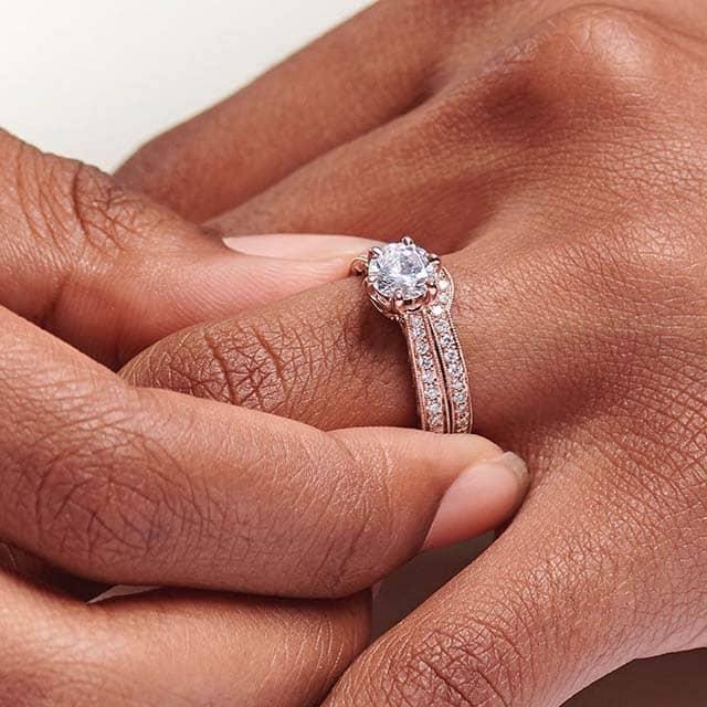 Rose Gold Blue Nile Engagement Rings.