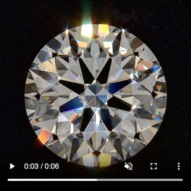 J-color, VS2 clarity, Brian Gavin Signature Diamond Review.