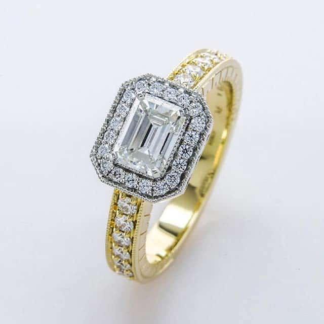 Custom Engagement Rings by Brian Gavin Designs.