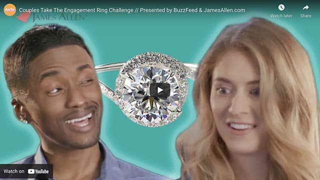 James Allen Engagement Ring Challenge | YouTube Video.