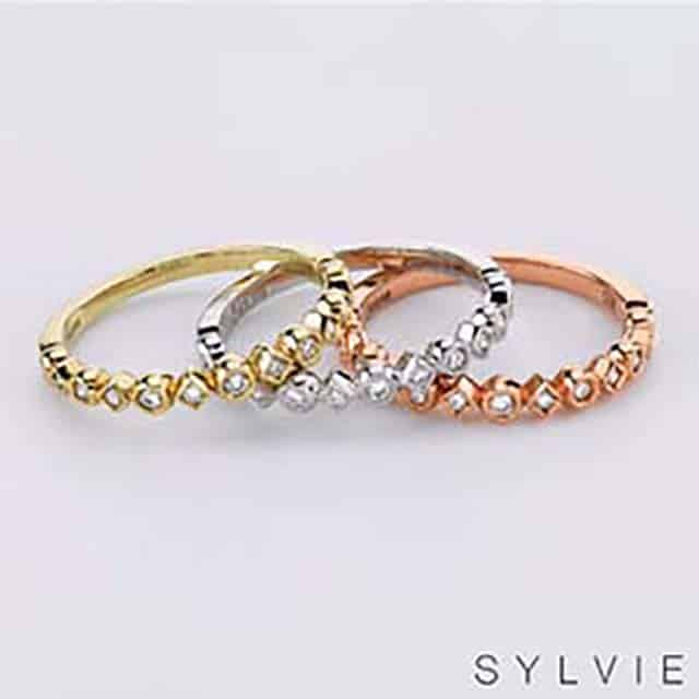 Sylvie Stackable Rings