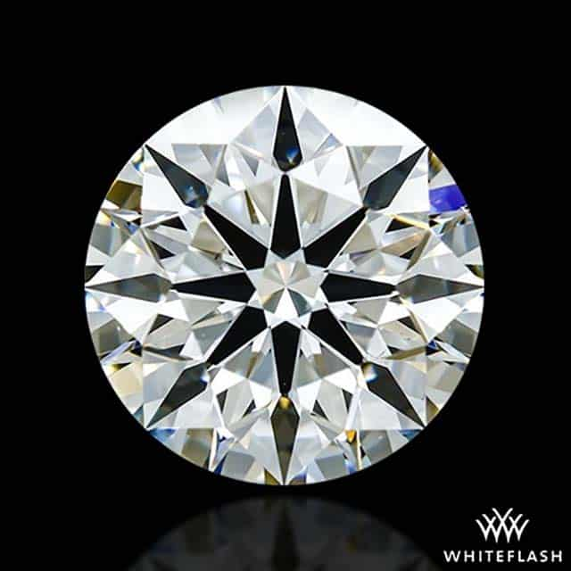 1-carat WhiteFlash A Cut Above Round Hearts and Arrows Diamond.